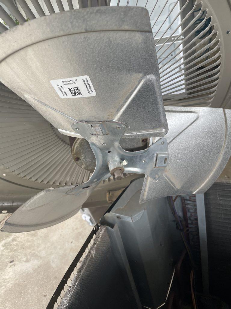 How to change an ac fan motor